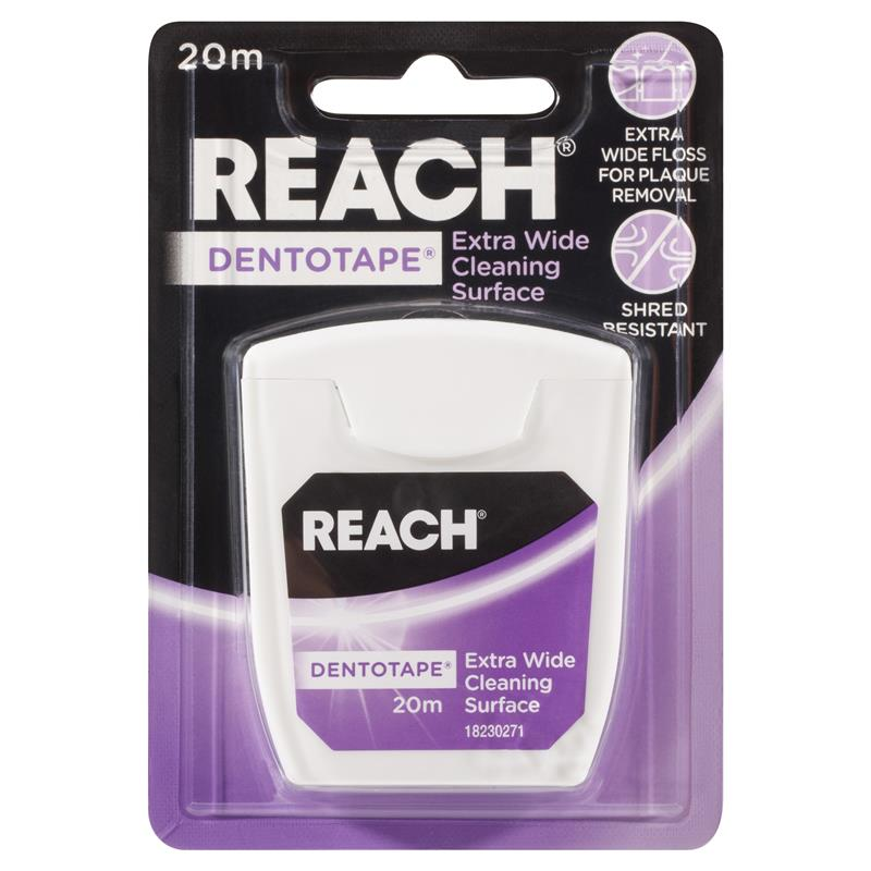 Reach Dentotape Waxed 20m at Chemist Warehouse in Campbellfield, VIC | Tuggl