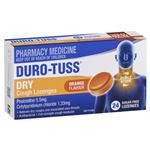 Duro-Tuss Cough Lozenges Orange 24 SugarFree Lozenges
