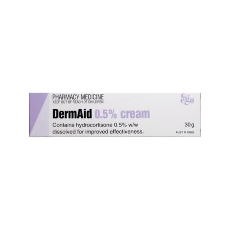 Dermaid 0.5% Eczema Cream 30G