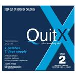 QuitX Patches Step 2 - 7x 24hr 14mg patch