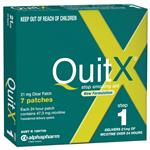 QuitX Patches Step 1 - 7x 24hr 21mg patch