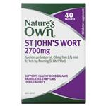 Nature's Own St John's Wort 2700mg 40 Tablets