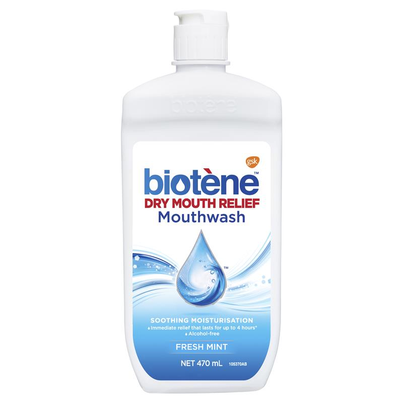 Biotene Anti-Bacterial Mouth Wash 470mL at Chemist Warehouse in Campbellfield, VIC | Tuggl