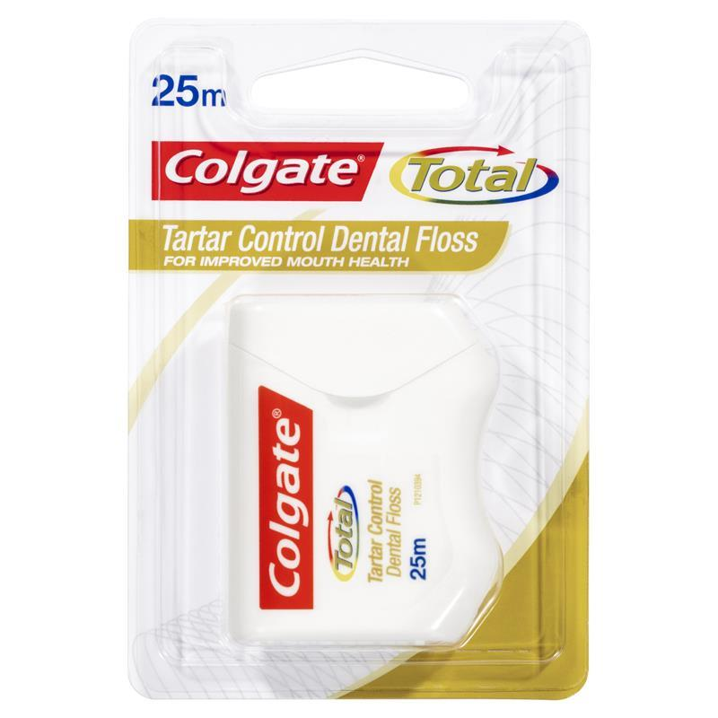 Colgate Dental Floss Tartar 25m at Chemist Warehouse in Campbellfield, VIC | Tuggl