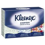 Kleenex Pocket Pack Tissues 6 Pack