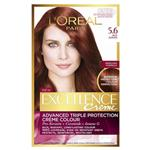 L'Oreal Paris Excellence Permanent Hair Colour - 5.6 Rich Auburn (100% Grey Coverage)