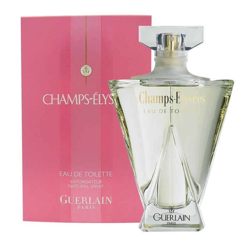 buy guerlain champs elysees eau de toilette 50ml spray online at chemist warehouse. Black Bedroom Furniture Sets. Home Design Ideas