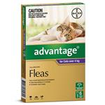 Advantage for Cats over 4kg 6 pack