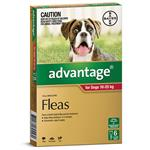 Advantage for Dogs 10 - 25 kg 6 pack