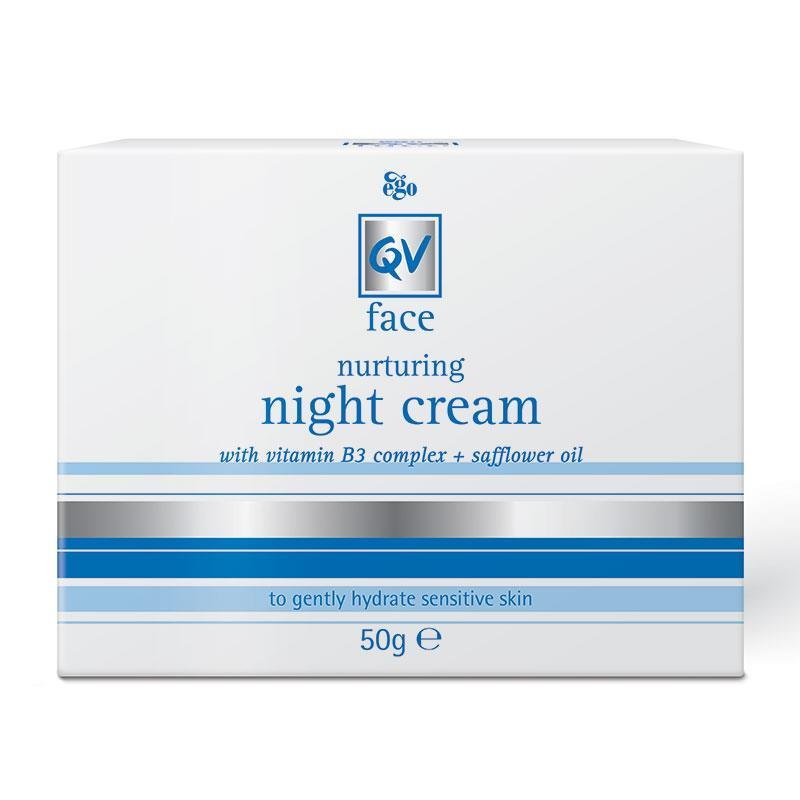 Buy QV Face Night Cream 50G With Vitamin B3 Online At