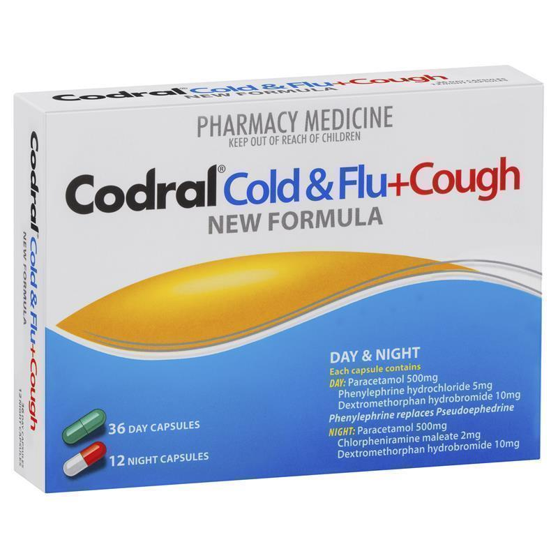 how to take codral cold and flu