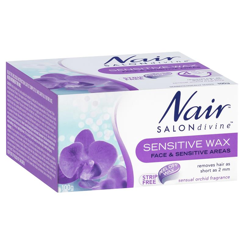 Buy Nair Salon Divine Sensitive Wax For Delicate Areas 100g Online
