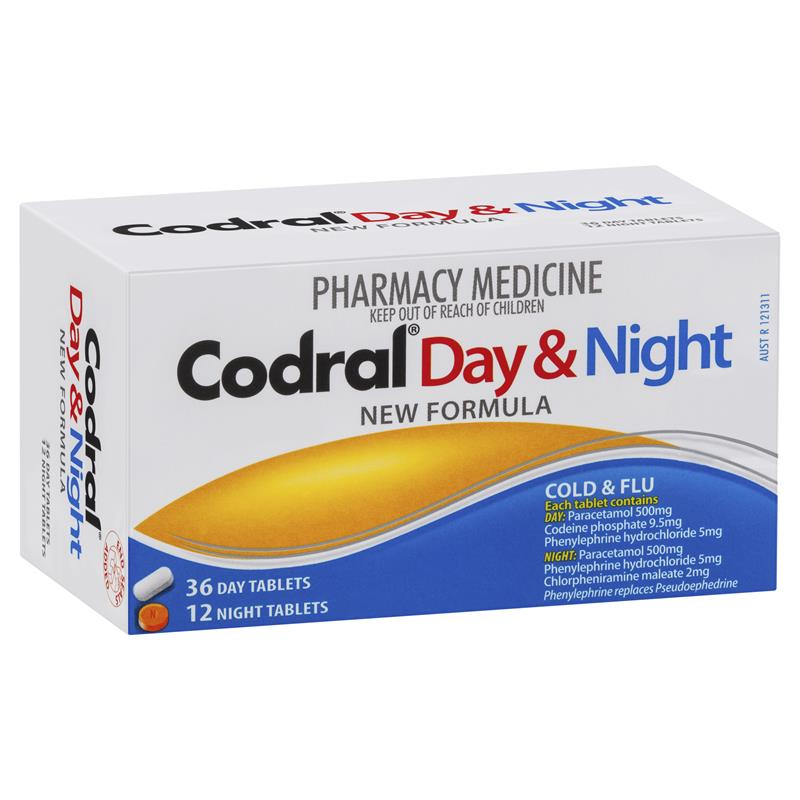 What is in cold and flu tablets