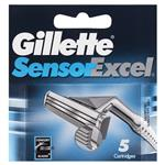 Gillette Sensor Excel Shaving Refill Cartridge Pack 5