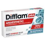 Difflam PLUS Menthol And Eucalyptus Lozenge 16