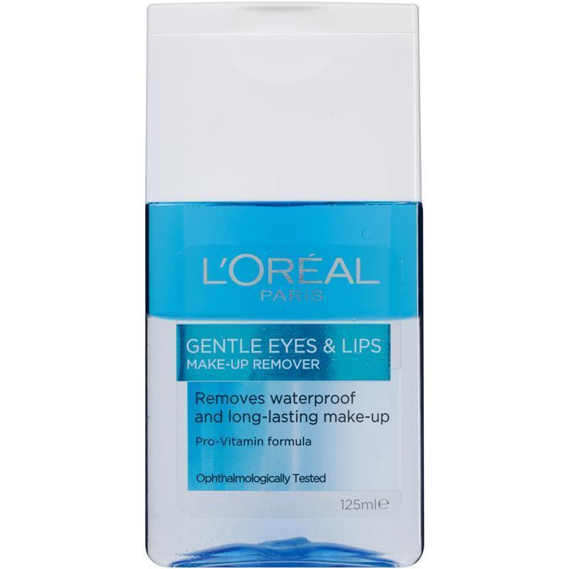 L'Oreal Paris Gentle Eyes & Lips Waterproof Make-up Remover 125ml
