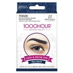 1000 Hour Eyelash & Brow Dye Kit Blue/Black