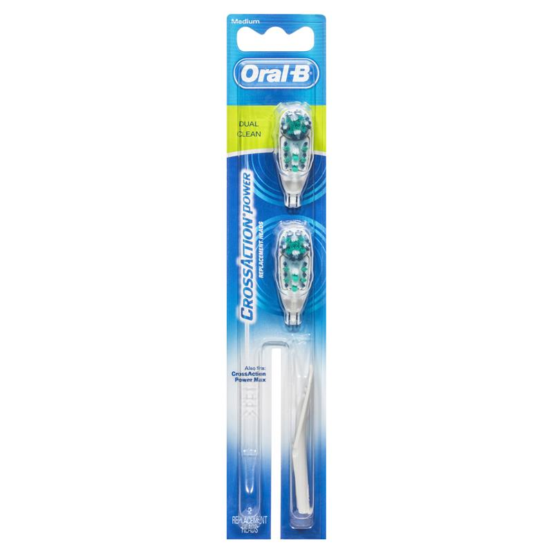 Oral b toothbrush crossaction-3295