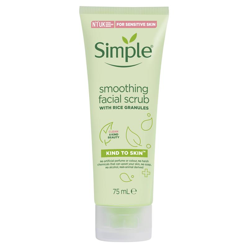 Simple Kind To Skin Facial Scrub Smoothing 150ml at Chemist Warehouse in Campbellfield, VIC | Tuggl