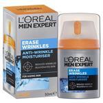 L'Oreal Men's Expert Erase Wrinkles Moisturising Cream 50ml