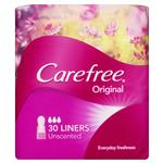 Carefree Original Regular Liners Unscented 30 Pack