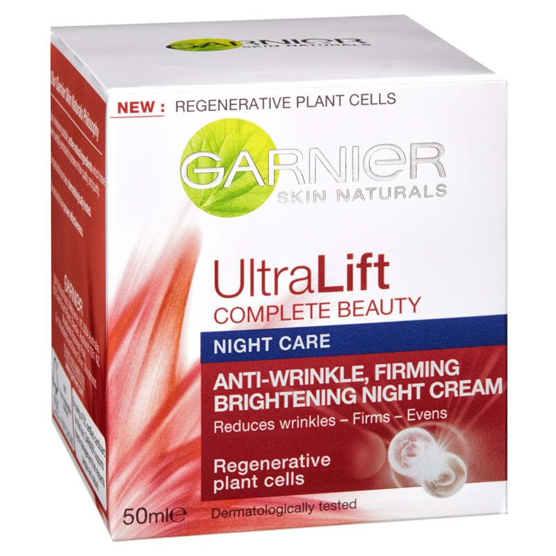 Buy Garnier UltraLift Anti-Wrinkle Night Cream 50mL Online