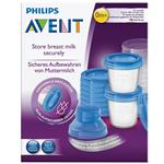 Avent Via Breast Milk Storage Containers 180ml x 10
