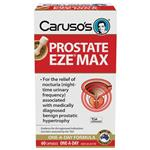 Carusos Natural Health Prostate EZE MAX 15000mg Pygeum 60 Capsules