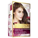 L'Oreal Paris Excellence Permanent Hair Colour - 5.15 Natural Frosted Brown (100% Grey Coverage)