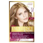L'Oreal Paris Excellence Permanent Hair Colour - 7.3 Dark Golden Blonde (100% Grey Coverage)