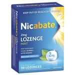 Nicabate Lozenges 2mg 36