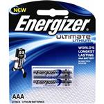 Energizer Lithium L92 AAA 2 Pack