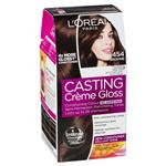 L'Oreal Paris Casting Creme Gloss Semi-Permanent Hair Colour - 454 Brownie (Ammonia free)