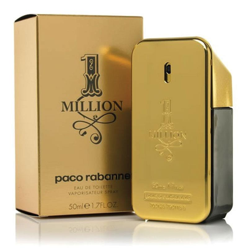 buy paco rabanne 1 million eau de toilette spray 50ml. Black Bedroom Furniture Sets. Home Design Ideas