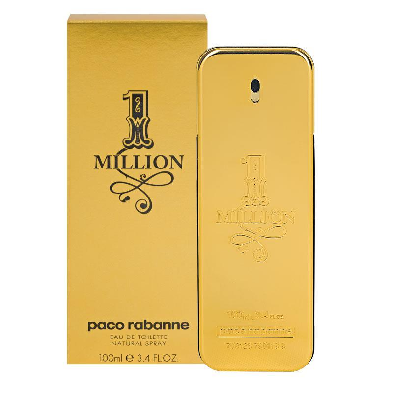 buy paco rabanne 1 million eau de toilette spray 100ml. Black Bedroom Furniture Sets. Home Design Ideas