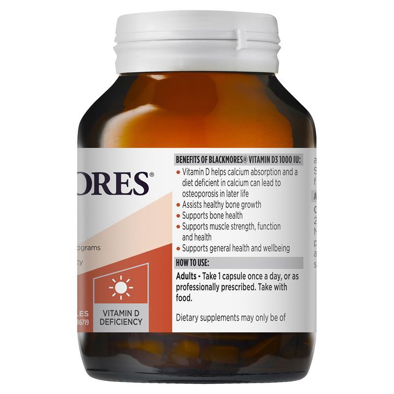 블랙모어스 비타민 D3 1000Iu ..
