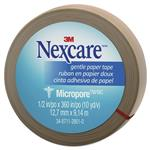 Nexcare Micropore Gentle Paper Tape Tan 12.7mm x 9.14m