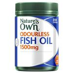 Nature's Own Fish Oil 1500mg Odourless 200 Capsules