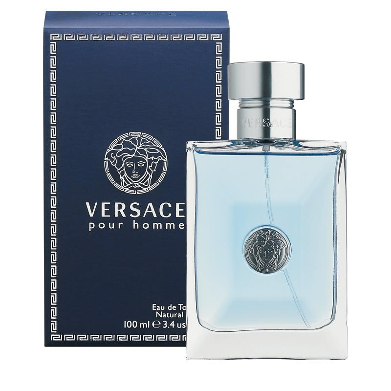 Buy Versace Pour Homme Eau de Toilette 100ml Spray Online at Chemist ... 81ed75c3add