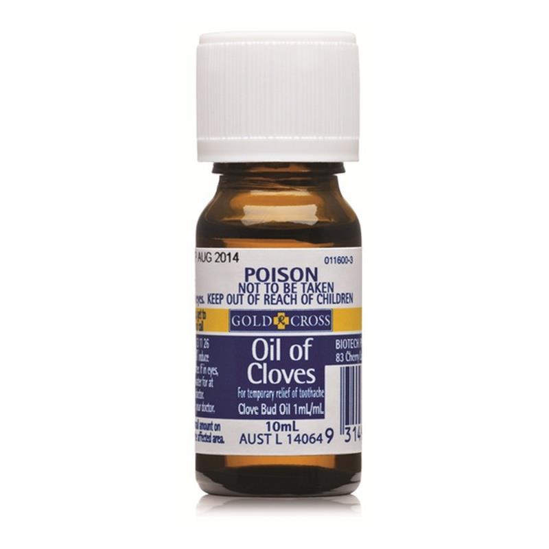 Where do you buy oil of cloves