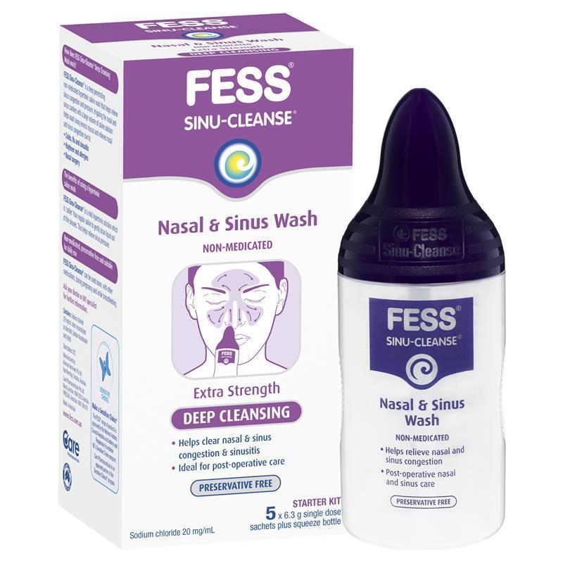 Buy Fess Sinu Cleanse Starter Kit Online at Chemist Warehouse®
