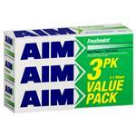 Aim Toothpaste Fresh Mint 3 Pack
