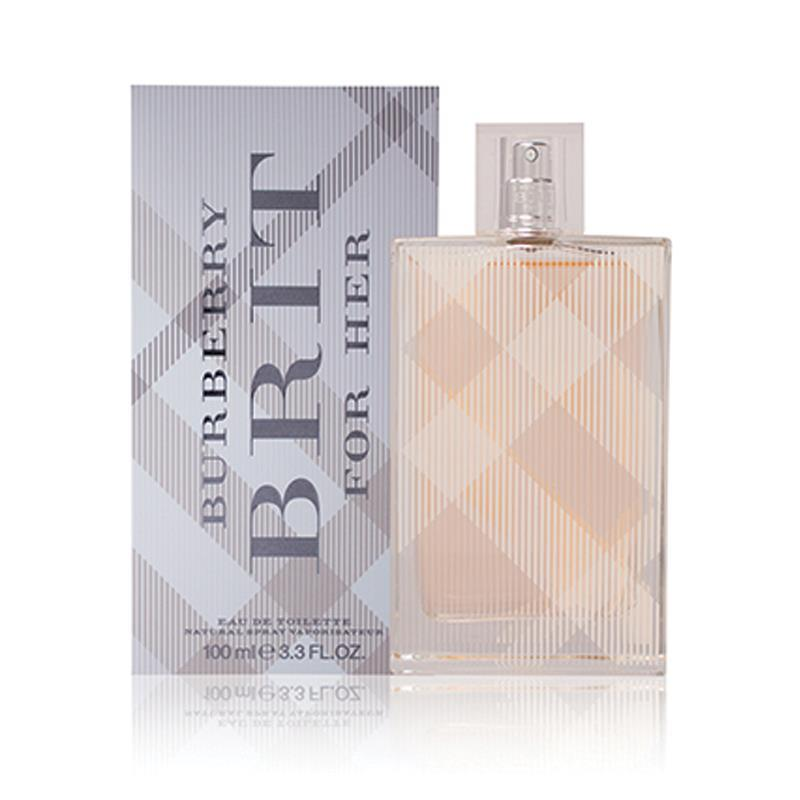 2f9b514a4c6e Buy Burberry Brit for Women Eau de Toilette Spray 100ml Online at ...