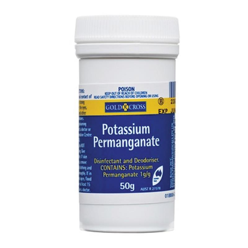 Buy Gold Cross Potassium Permanganate 50g Online At Chemist Warehouse