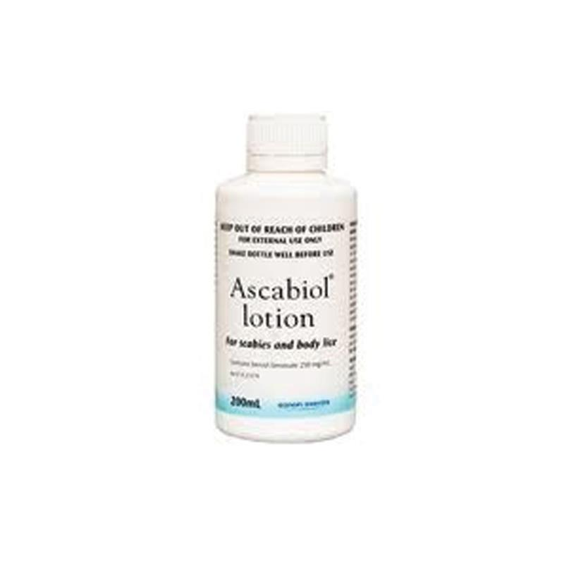 Ascabiol Emulsion 25% Scabies & Head Lice 200ml at Chemist Warehouse in Campbellfield, VIC | Tuggl
