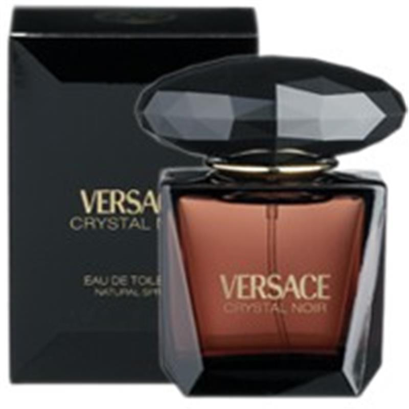 Buy Versace Crystal Noir Eau De Toilette 90ml Spray Online At My