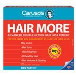 Carusos Natural Health Hair More Kit - For Hair Loss
