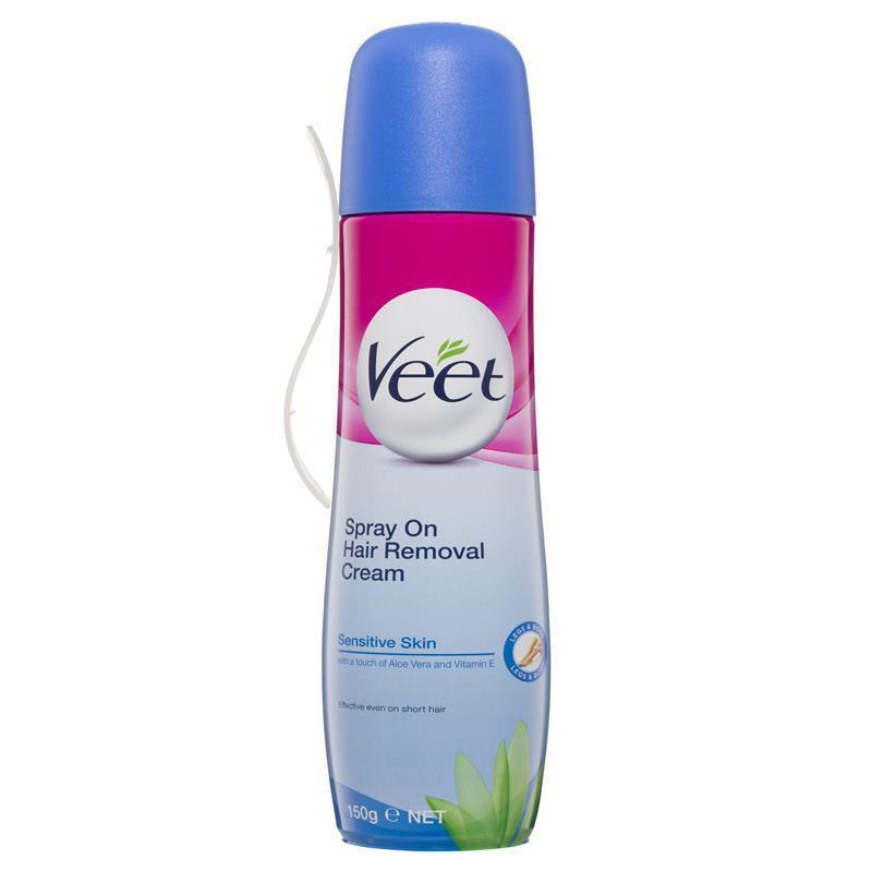 Buy Veet Spray On Hair Removal Cream Sensitive 150ml Online At