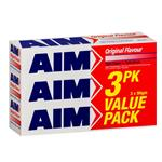 Aim Toothpaste Original Value 3 Pack