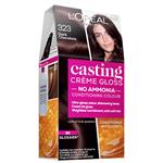 L'Oreal Paris Casting Creme Gloss Semi-Permanent Hair Colour - 323 Dark Chocolate (Ammonia Free)